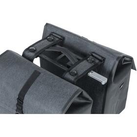 Basil Urban Dry Doppel-Gepäckträgertasche MIK 32l charcoal melee
